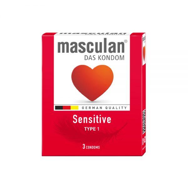 Bao cao su Masculan - Sensitive - 3bao